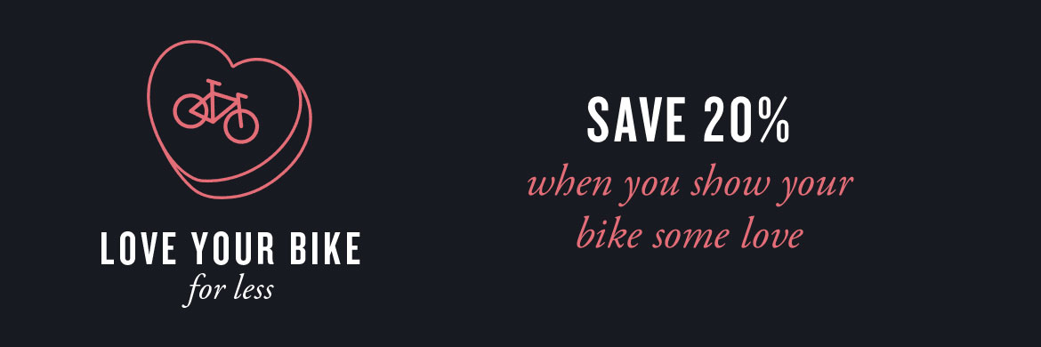 Give your bike some love at Rotations Bicycle Center