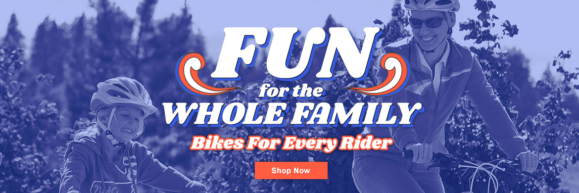 Bikes for the whole family!