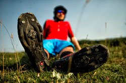 Don't forget your cycling shoes, pedals and helmet!
