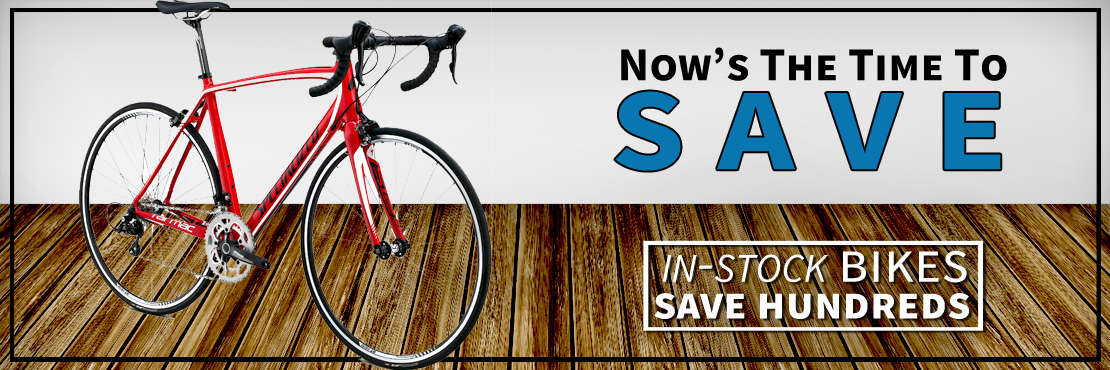 You must check out these discounted bikes from Rotations Bicycle Center.